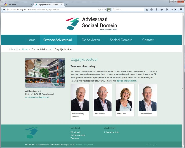 Website ASD Lansingerland