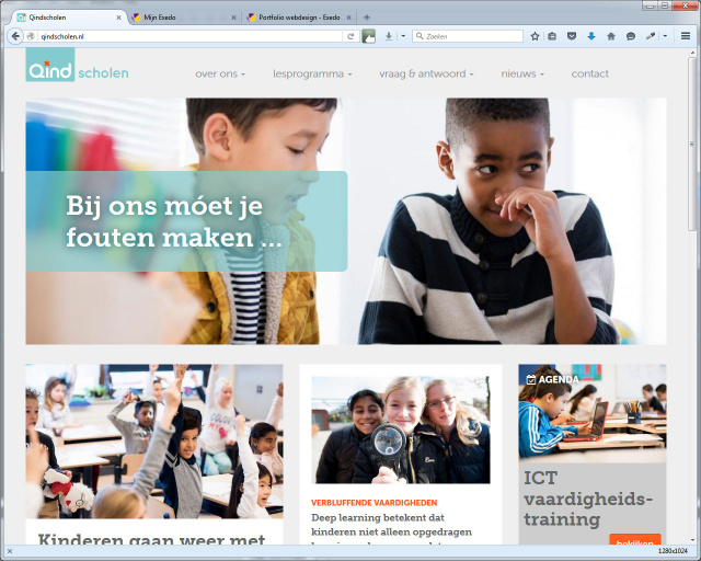 Website Qindscholen