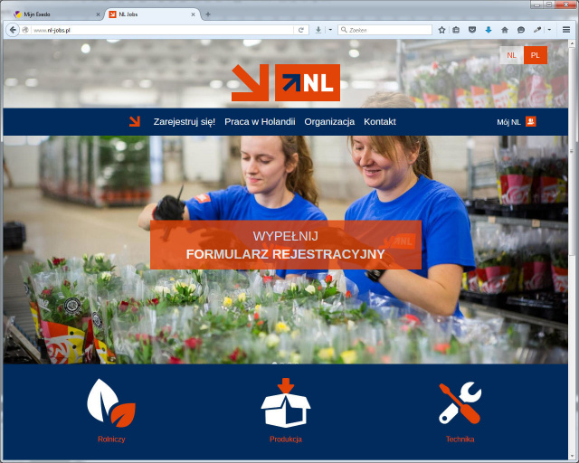 Website NL Jobs