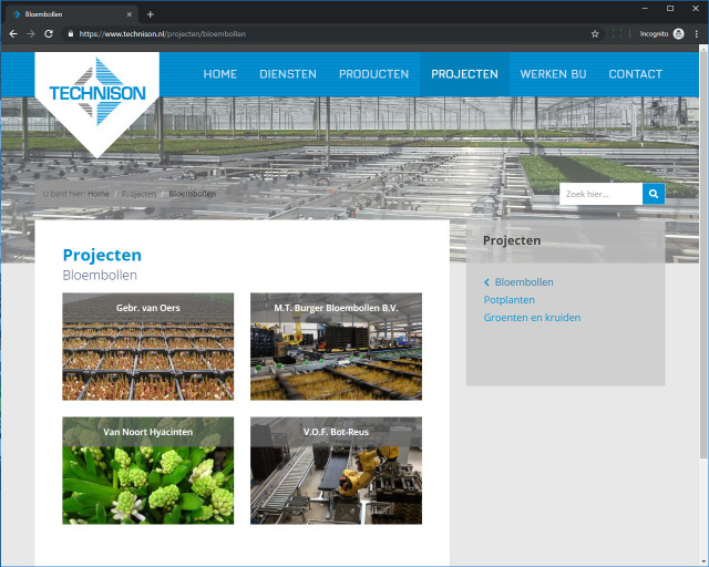 Technison Greenhouse Automation